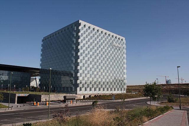 Sede de Telefónica en Las Tablas (Madrid).
